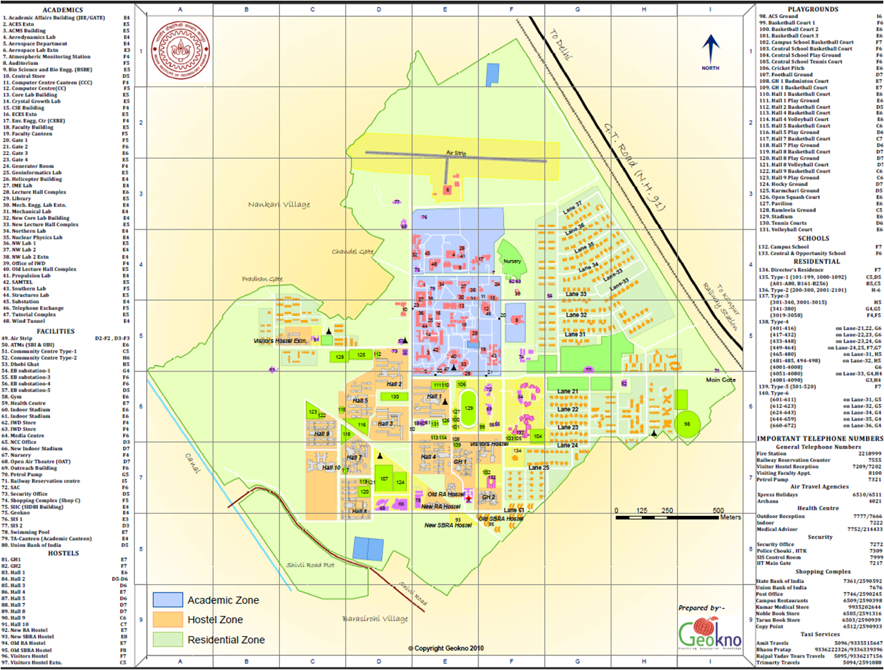 iit kanpur campus map Home Page Manoj Kumar iit kanpur campus map