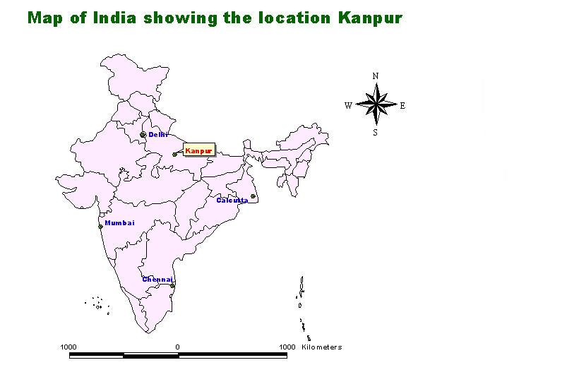 Kanpur India  city photos : Kanpur India Map Related Keywords & Suggestions Kanpur India Map ...